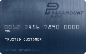 Paramount Bank Debit Card Credit Card Free Visa Customer Onilne Banking Mobile App iPhone Android iPad Macbook Mac