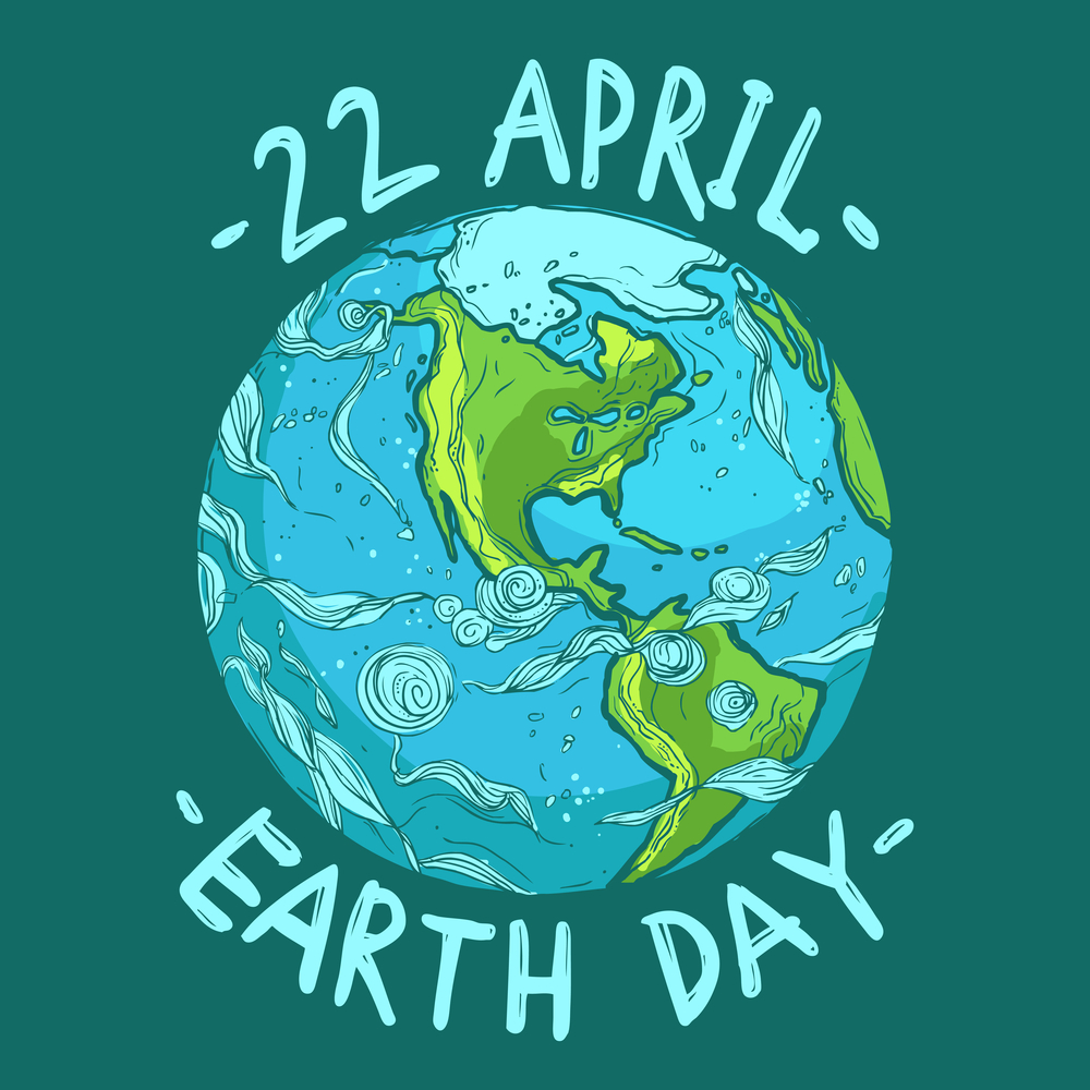 Paramount Bank Happy Earth Day April 22 Conservation Green Planet