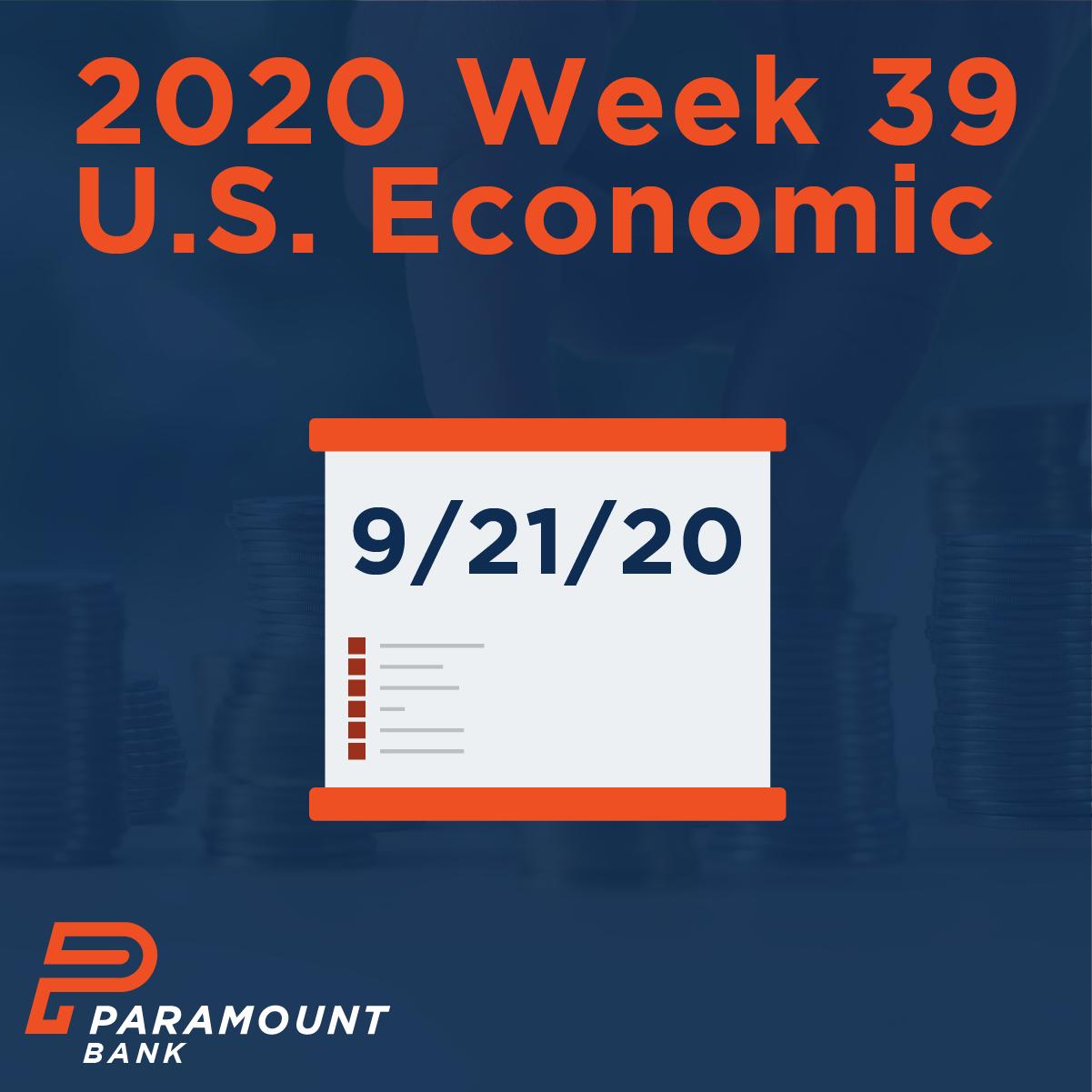 Week 39 econ update