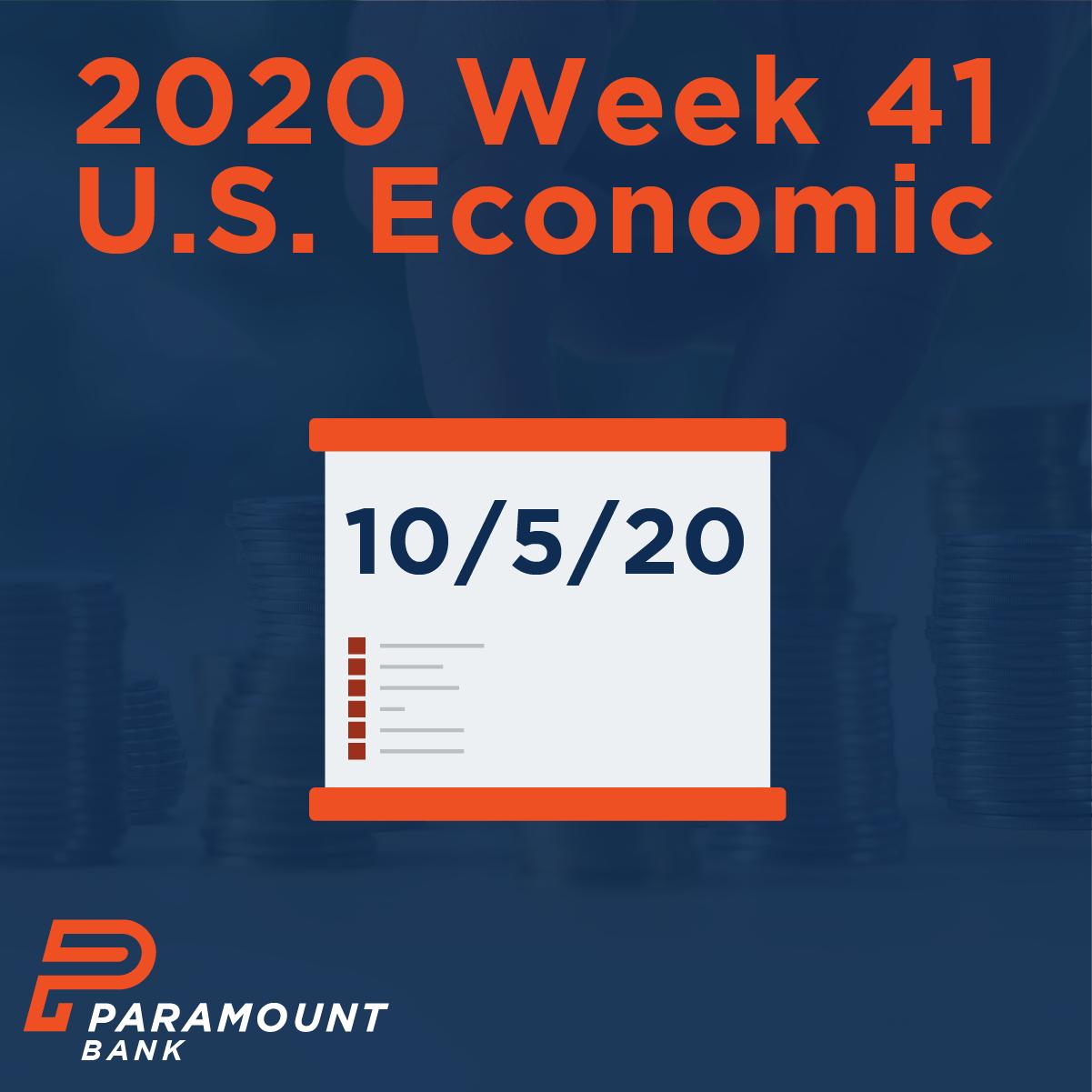 Economic calendar this week investment condominium financing rules